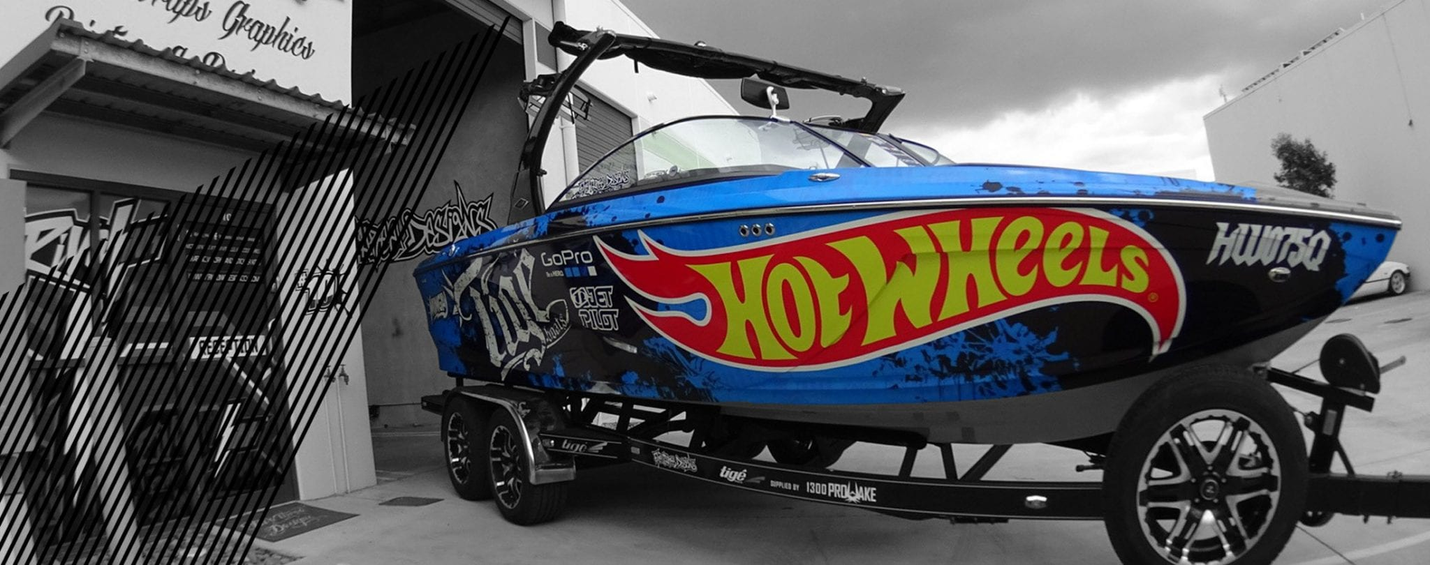 gold coast vinyl boat wraps