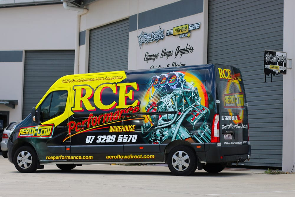 Vehicle wrap gold coast