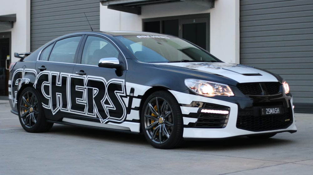 car wrap gold coast
