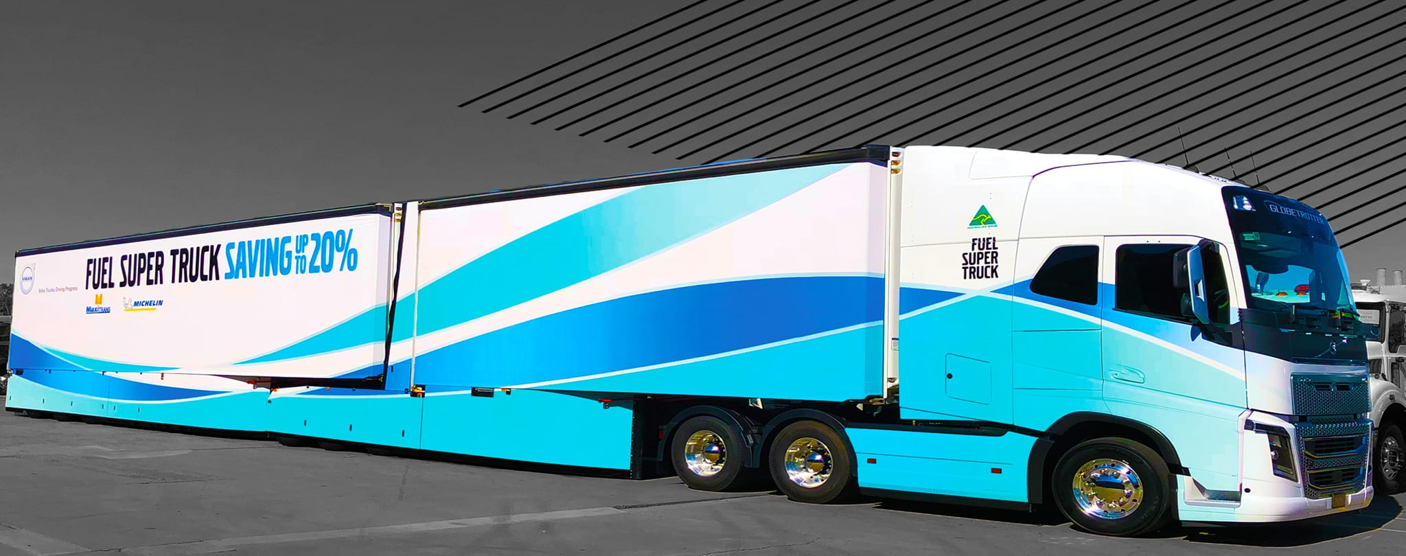 Truck Wraps - five three designs